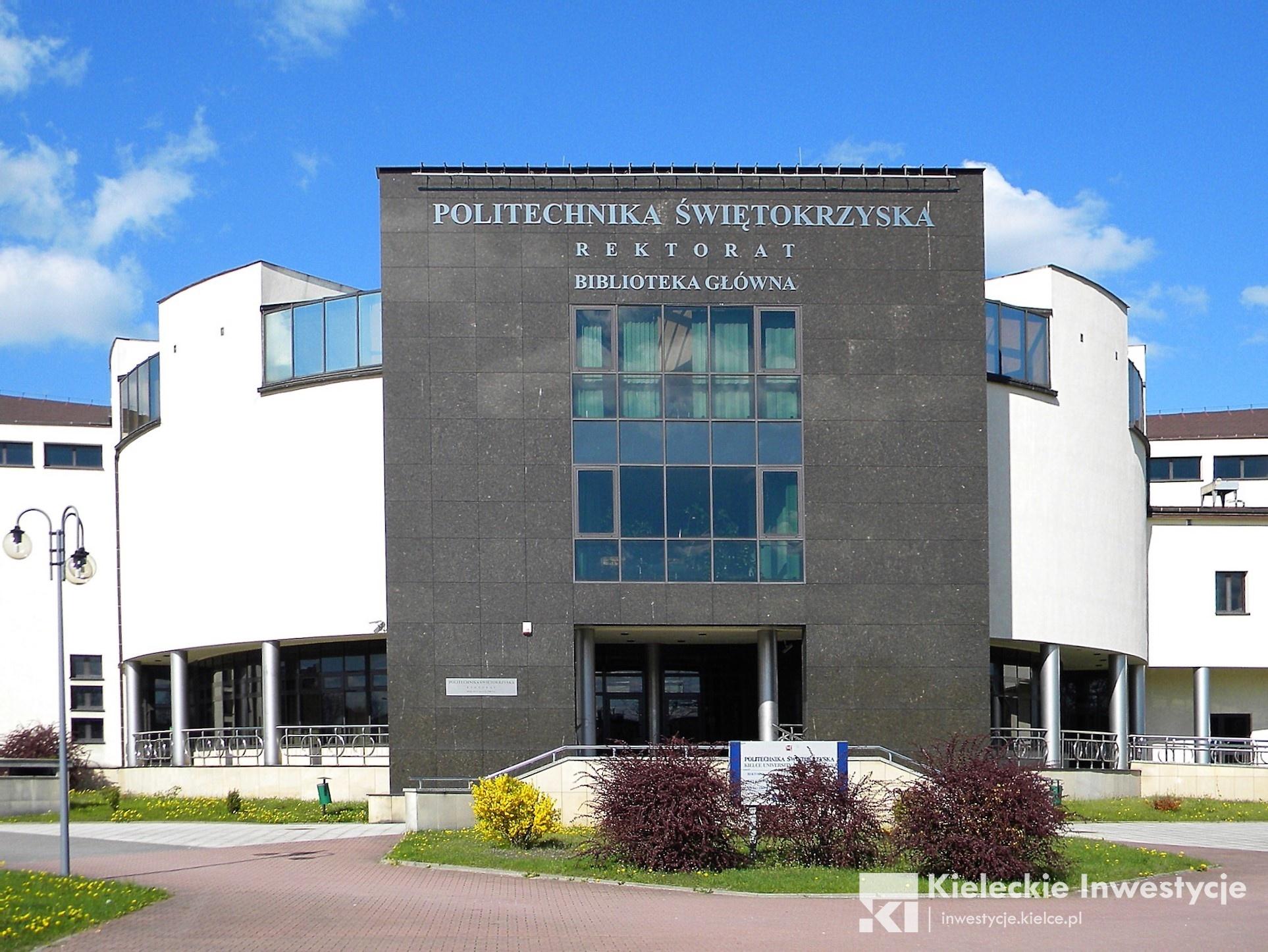 Biblioteka G Wna Politechniki Wi Tokrzyskiej Kieleckie