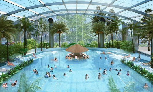 Baseny Tropikalne – rozbudowa hotelu Binkowski Resort