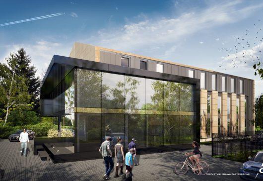 Rozbudowa siedziby Straży Miejskiej w Kielcach