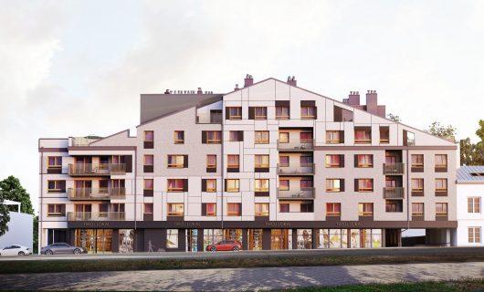 Budynek mieszkalny – Wspólna 19 (Eko-Invest)