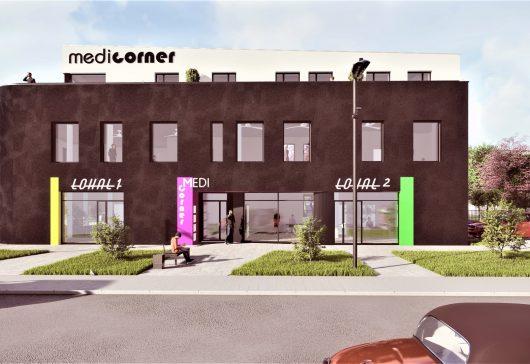 MediCorner – budynek usługowo-handlowy