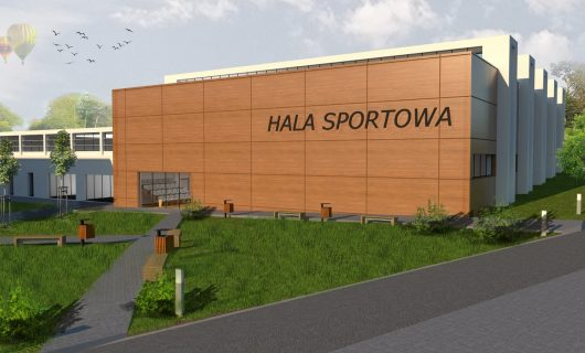 Hala sportowa przy Zespole Szkół Ponadgimnazjalnych nr 1 w Kielcach