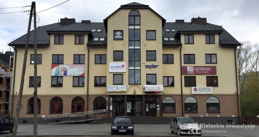 Okrzei 18 Budynek Usługowy Kieleckie Inwestycje Nowe