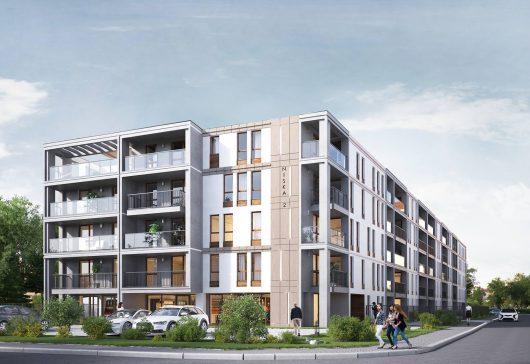 Niska 2 – budynek mieszkalny (Epa Investment)
