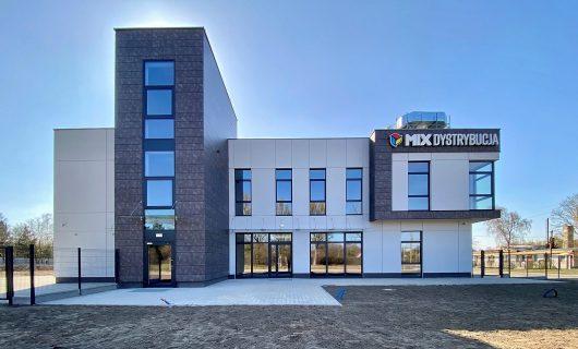 MIX Dystrybucja – siedziba przy ul. Pakosz