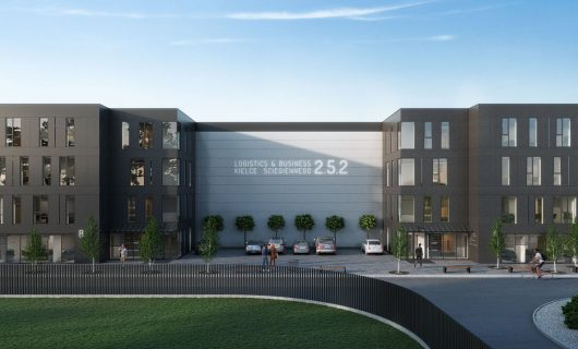 Centrum logistyczno-biurowe – ul. Ściegiennego 252 (LWY Inwestycje)