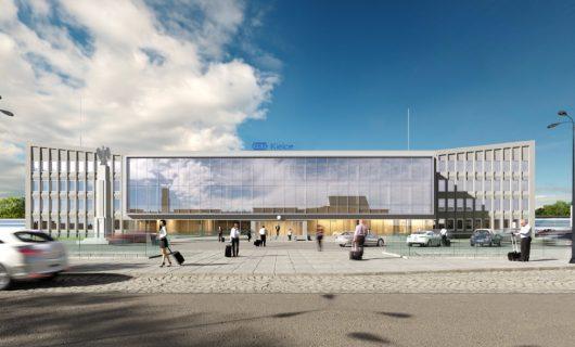 Przebudowa Dworca PKP Kielce